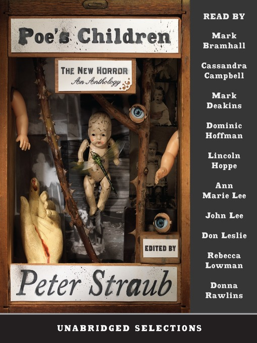 Title details for Poe's Children by Peter Straub - Available
