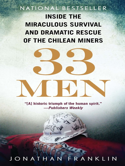 Title details for 33 Men by Jonathan Franklin - Available