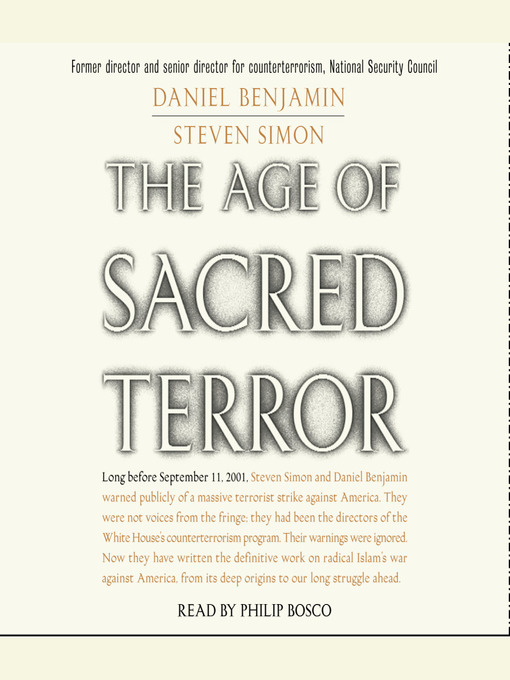 Cover of The Age of Sacred Terror