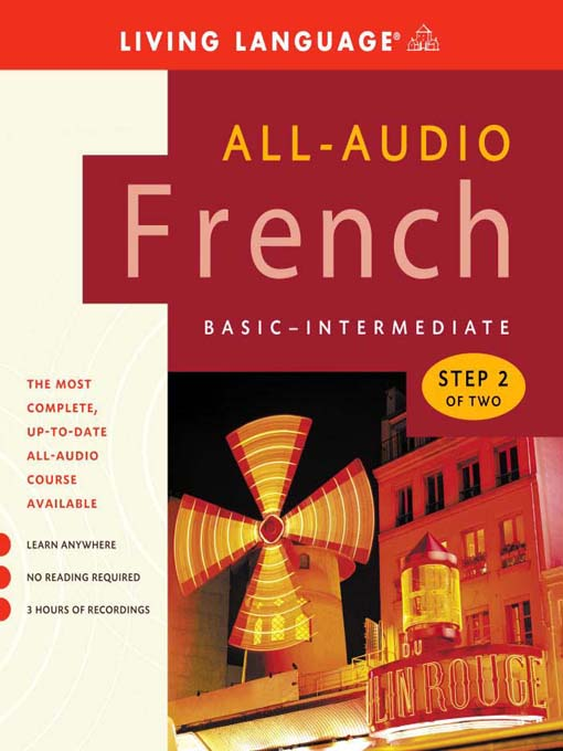 Title details for All-Audio French Step 2 by Living Language - Available