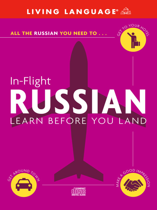 Title details for In-Flight Russian by Living Language - Wait list