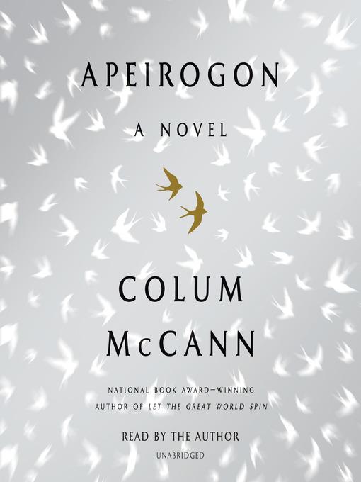 Title details for Apeirogon by Colum McCann - Wait list