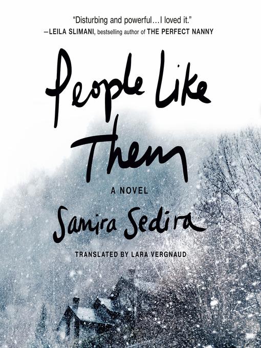 Title details for People Like Them by Samira Sedira - Wait list