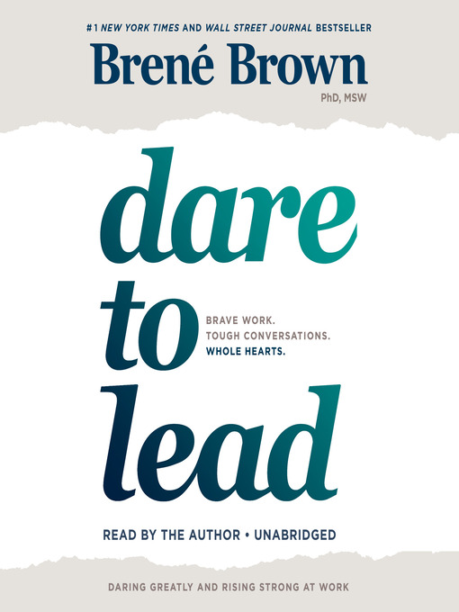 Title details for Dare to Lead by Brené Brown - Wait list