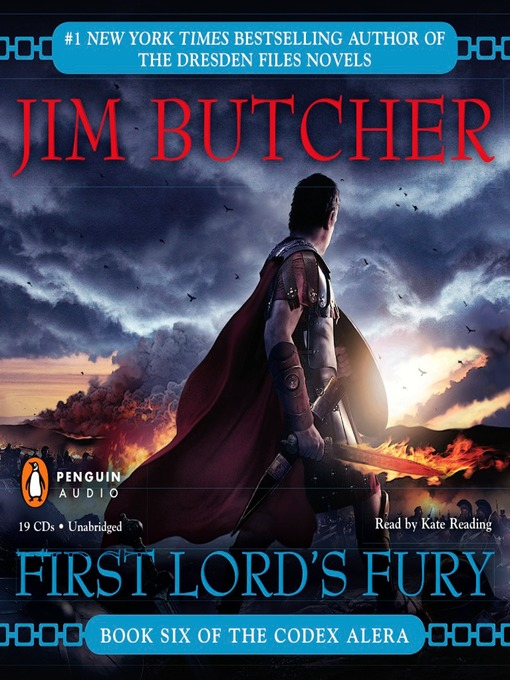 Title details for First Lord's Fury by Jim Butcher - Wait list