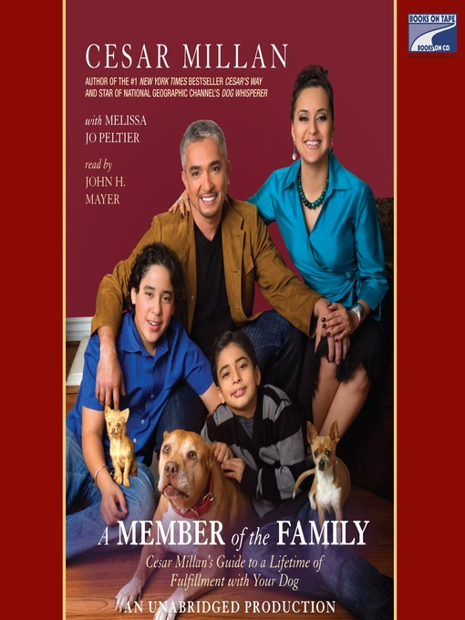 Title details for A Member of the Family by Cesar Millan - Wait list