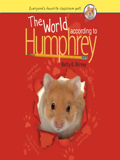 Title details for The World According to Humphrey by Betty G. Birney - Available