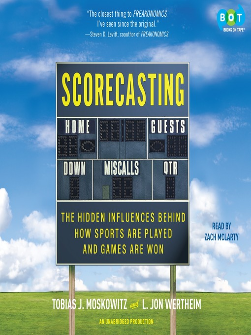 Title details for Scorecasting by Tobias Moskowitz - Available