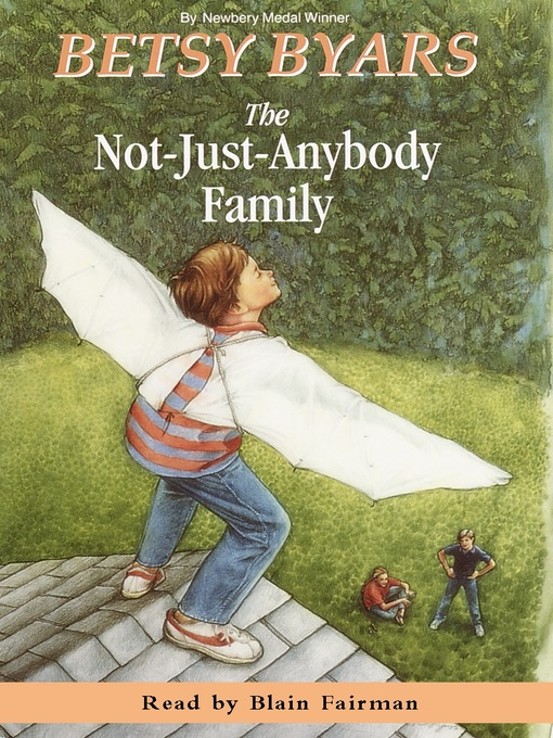 Title details for The Not-Just-Anybody Family by Betsy Byars - Available