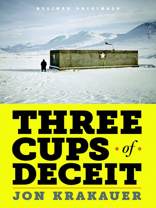Title details for Three Cups of Deceit by Jon Krakauer - Available