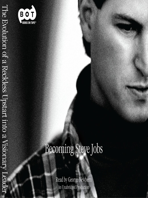 Cover of Becoming Steve Jobs