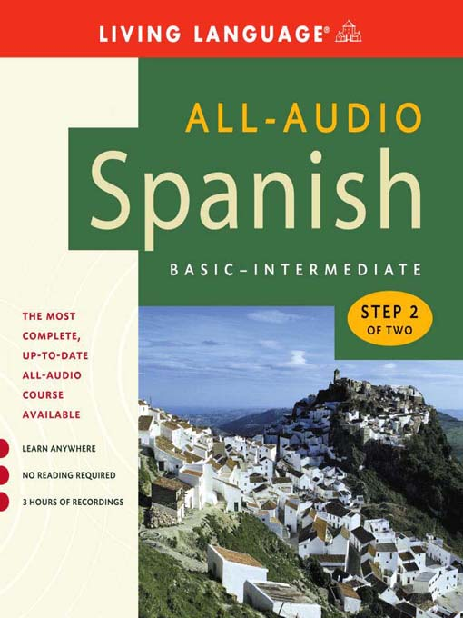 Title details for All-Audio Spanish Step 2 by Living Language - Wait list