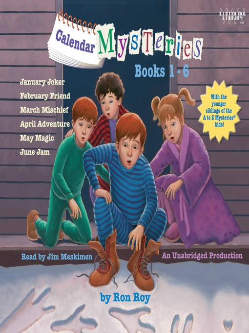 Title details for Calendar Mystery Series, Books 1-6 by Ron Roy - Available