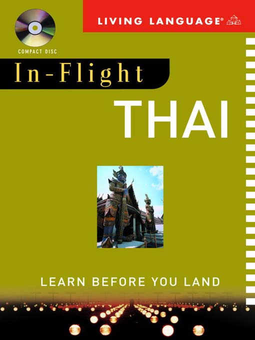 Title details for In-Flight Thai by Living Language - Available