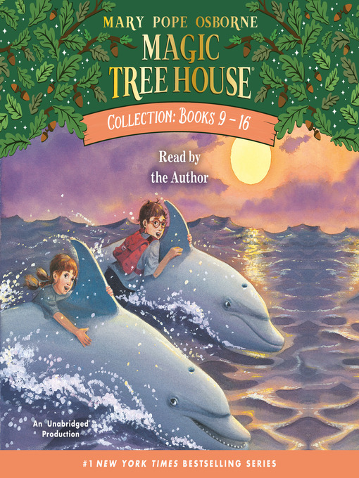 Cover of Magic Tree House Collection, Books 9-16