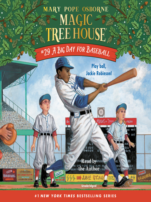 Title details for A Big Day for Baseball by Mary Pope Osborne - Wait list