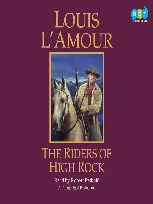 Title details for The Riders of High Rock by Louis L'Amour - Wait list