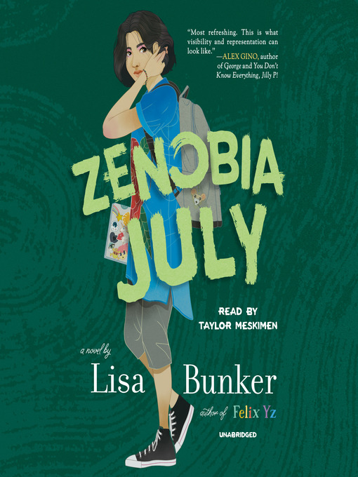 Title details for Zenobia July by Lisa Bunker - Available