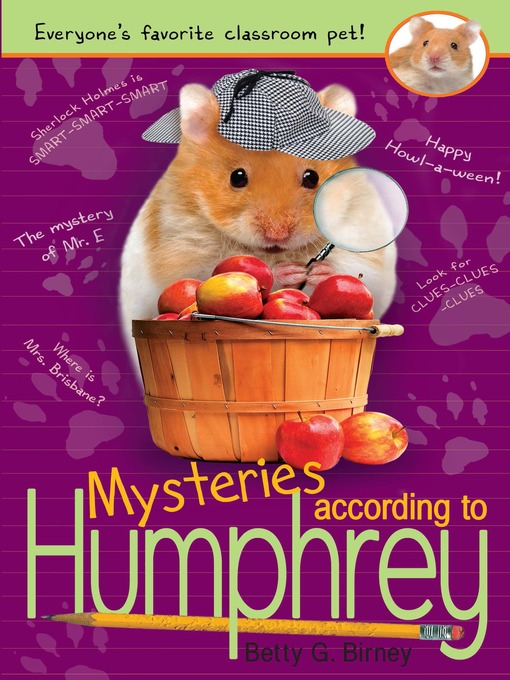 Title details for Mysteries According to Humphrey by Betty G. Birney - Available