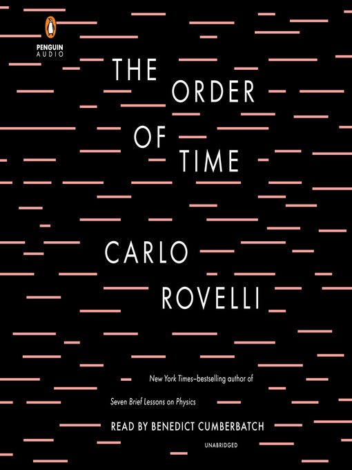 Title details for The Order of Time by Carlo Rovelli - Wait list