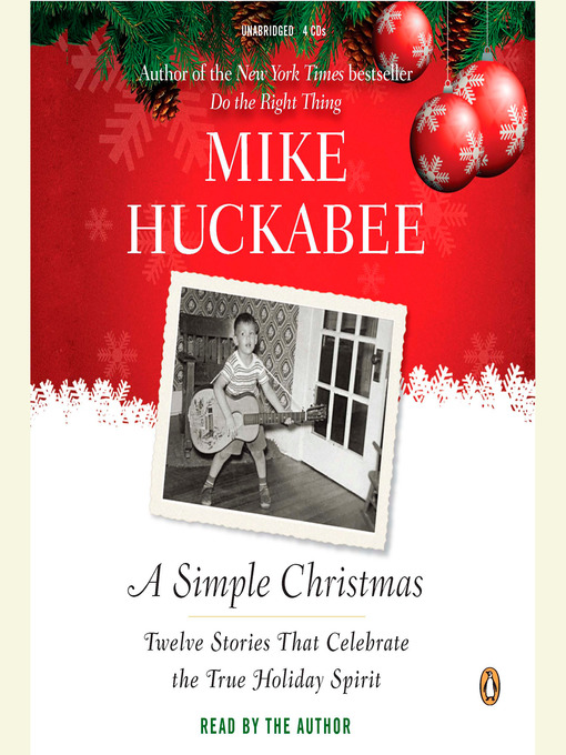 Title details for A Simple Christmas by Mike Huckabee - Available