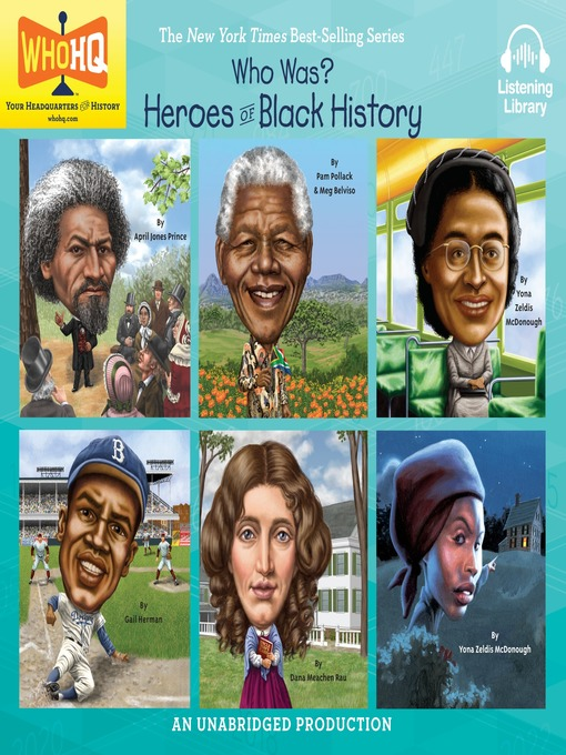 Title details for Who Was: Six Heroes of Black History by Various - Available