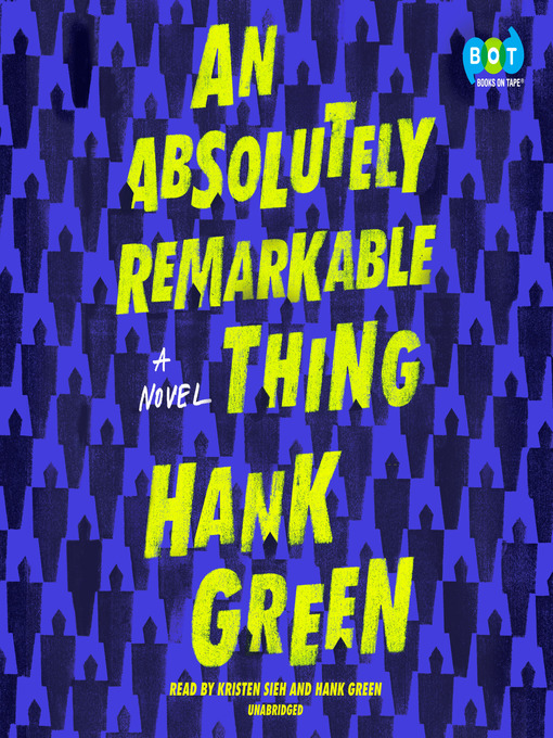Cover image for book: An Absolutely Remarkable Thing