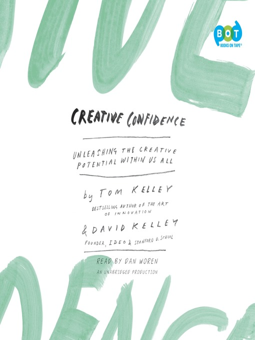 Cover image for Creative Confidence