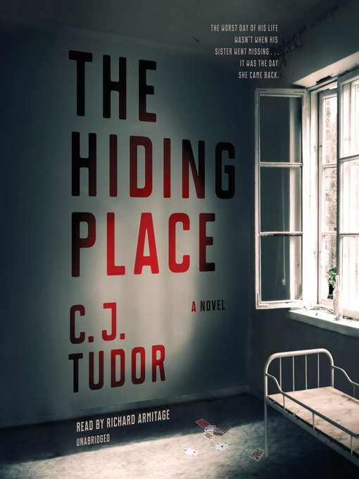 Title details for The Hiding Place by C. J. Tudor - Wait list