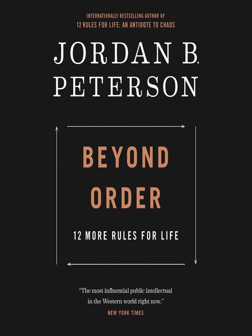 Title details for Beyond Order by Jordan B. Peterson - Wait list