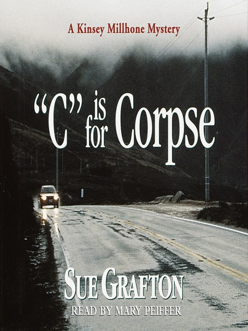 "Title details for ""C"" is for Corpse by Sue Grafton - Wait list"