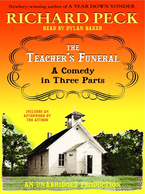 Title details for The Teacher's Funeral by Richard Peck - Wait list