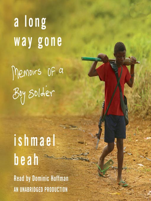 a long way gone by ishmael