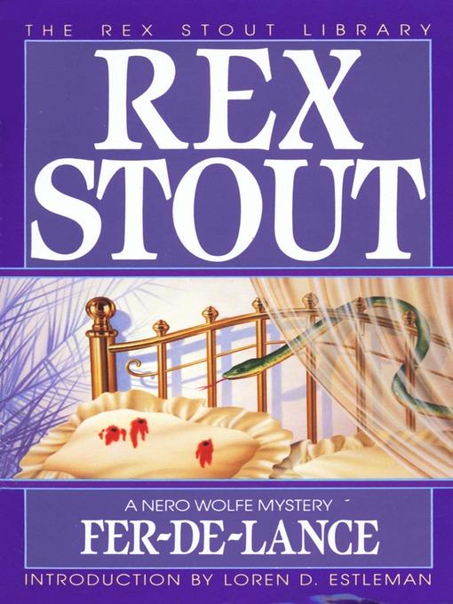 Title details for Fer-De-Lance by Rex Stout - Wait list