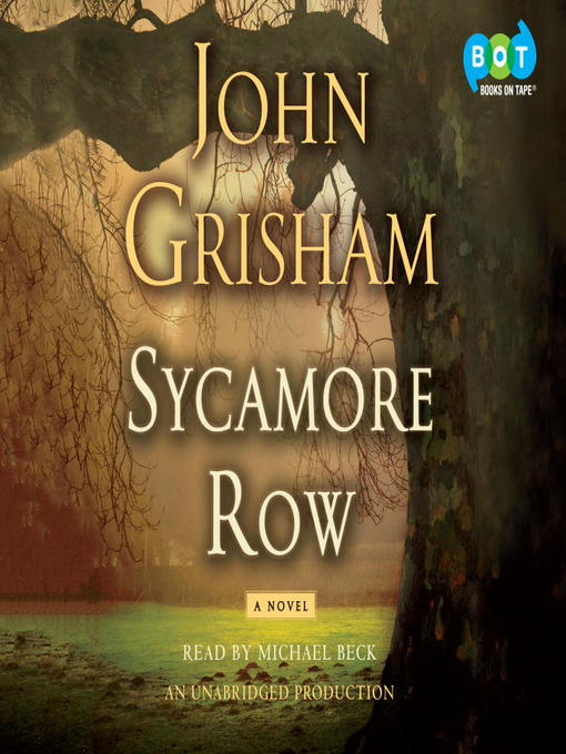 Title details for Sycamore Row by John Grisham - Wait list
