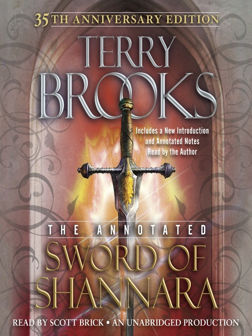 Title details for The Sword of Shannara: Annotated 35th Anniversary Edition by Terry Brooks - Available
