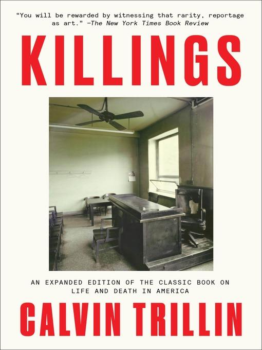Title details for Killings by Calvin Trillin - Wait list