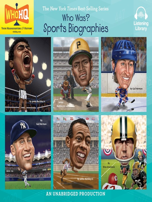 Title details for Who Was, Sports Biographies by Dina Anastasio - Available