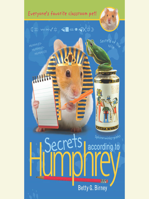 Title details for Secrets According to Humphrey by Betty G. Birney - Available