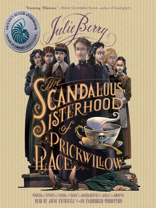 Cover of The Scandalous Sisterhood of Prickwillow Place