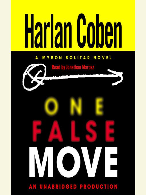 Title details for One False Move by Harlan Coben - Wait list