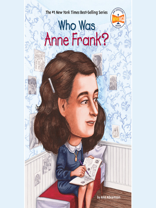 Cover of Who Was Anne Frank?