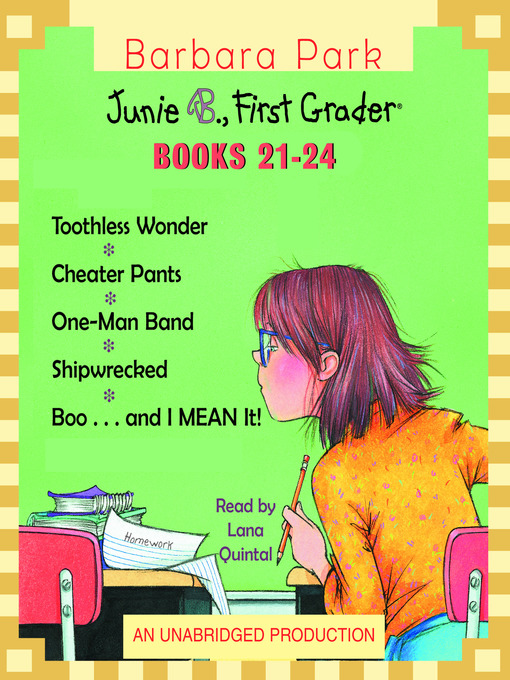 Junie B First Grader Collection Books 21 24 C W Mars Overdrive
