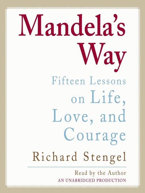 Title details for Mandela's Way by Richard Stengel - Wait list