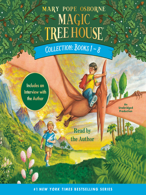 Cover of Magic Tree House Collection, Books 1-8