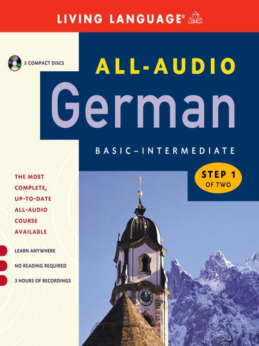 Title details for All-Audio German Step 1 by Living Language - Available