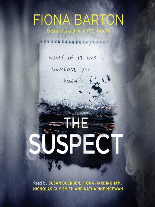 Title details for The Suspect by Fiona Barton - Wait list