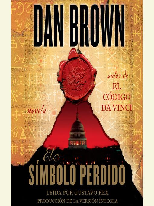 Detalles del título El Símbolo Perdido de Dan Brown - Disponible