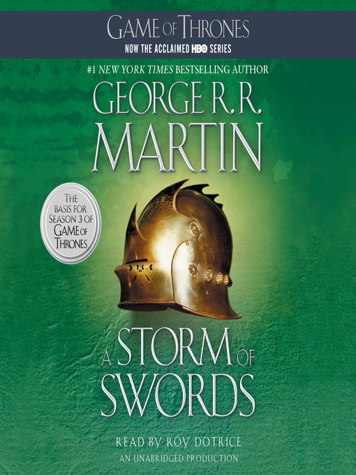 Title details for A Storm of Swords by George R. R. Martin - Wait list