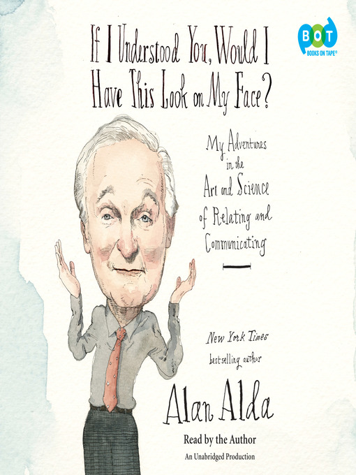 Title details for If I Understood You, Would I Have This Look on My Face? by Alan Alda - Wait list
